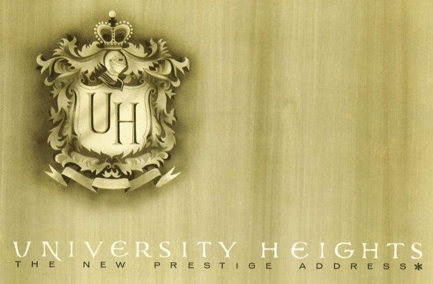 University Heights-The New Prestigious Address